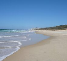 Gold Coast Beach on a Sunny Winter's Day by aussiebushstick