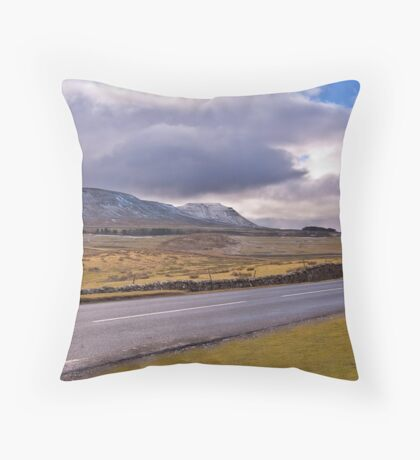 Road to the Dales Throw Pillow