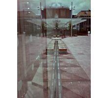 pinhole reflection Photographic Print