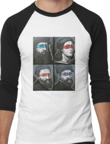 NINJA TURTLES RENAISSANCE Men's Baseball ¾ T-Shirt