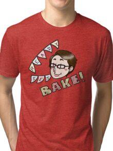Sue Says Bake! Tri-blend T-Shirt