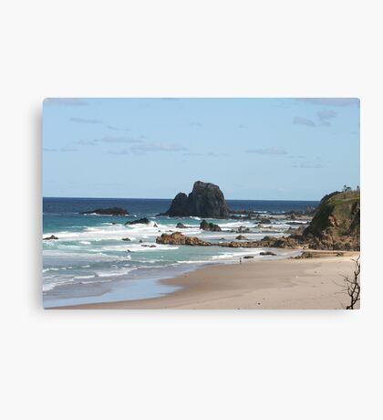 Low Tide at Narooma Surf Beach Canvas Print