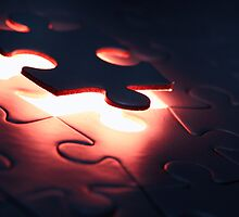 Puzzle Piece Falling Into Place by edge2edgephoto