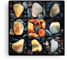 Wetrock Matrix Canvas Print