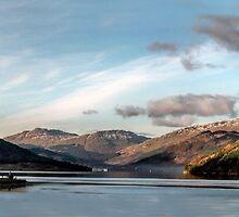 Autumn on the Loch by Lynn Bolt