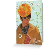 She Loved Canned Fruit! Greeting Card