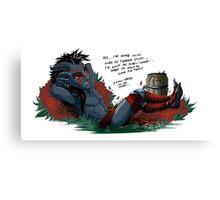 Fetch quests - Misadventures Canvas Print