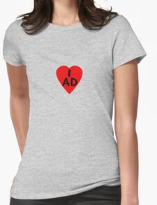 I Love Andorra - Country Code AD T-Shirt & Sticker T-Shirt