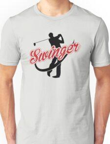 Golf: Swinger Unisex T-Shirt
