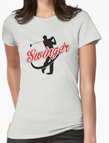 Golf: Swinger Womens Fitted T-Shirt