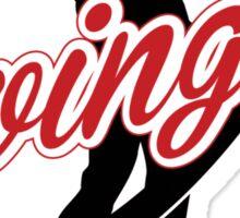 Golf: Swinger Sticker