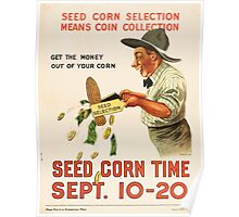 United States Department of Agriculture Poster 023 Seed Corn Selection Means Coin Collection1 Poster