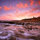 Cotton Candy Sunset by joel Durbridge