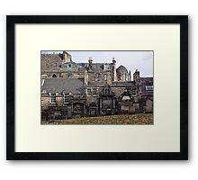 Greyfriars Graveyard Framed Print