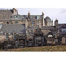 Greyfriars Graveyard Photographic Print