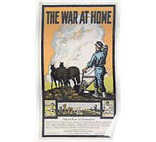 United States Department of Agriculture Poster 0201 The War At Home Poster