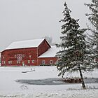 Red Barn by Claudia Kuhn