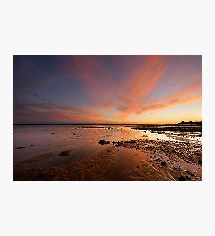 River Esk Sunset Photographic Print