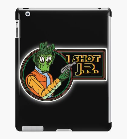 Star Wars - Greedo - I Shot J.R. iPad Case/Skin