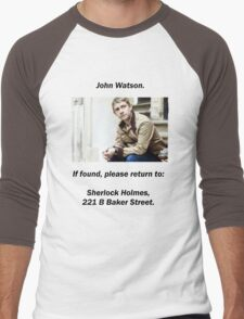 John Watson, lost Men's Baseball ¾ T-Shirt