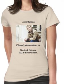 John Watson, lost Womens Fitted T-Shirt