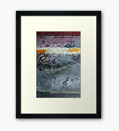 ground layer Framed Print