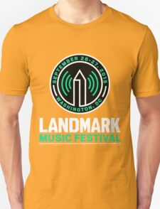 LANDMARK MUSIC FESTIVAL 2015 WASHINGTON T-Shirt