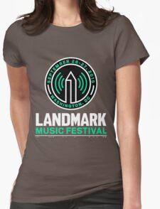 LANDMARK MUSIC FESTIVAL 2015 WASHINGTON Womens Fitted T-Shirt