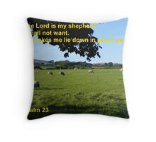 Restful Pastures Throw Pillow