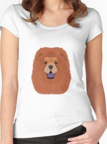 Chow Chow Women's Fitted Scoop T-Shirt