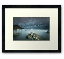 Barlocco Bay Framed Print