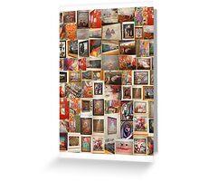 art work collage Greeting Card