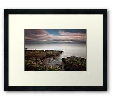 Robin Rigg Windfarm Framed Print