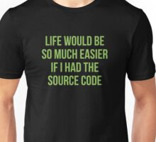 Life Source Code Unisex T-Shirt