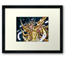Cancer Deathmask Framed Print
