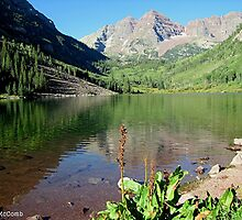 Maroon Bells by Loree McComb