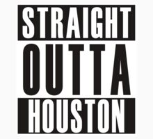 Straight Outta Houston One Piece - Long Sleeve