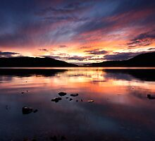 Loch Ness Sunset by Brian Kerr