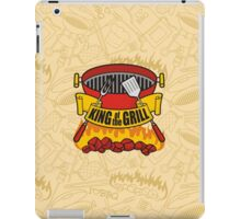 King of the Grill iPad Case/Skin