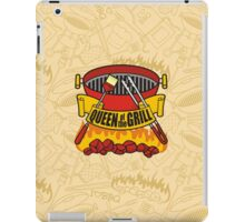 Queen of the Grill iPad Case/Skin