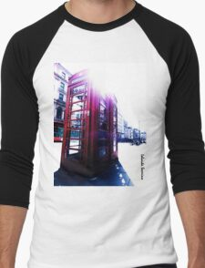 london in love telephone Men's Baseball ¾ T-Shirt