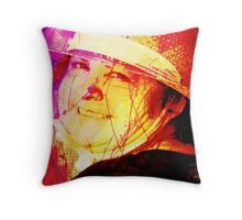 Nice Hat Day Throw Pillow