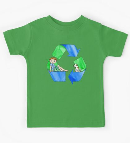 Boys Love the Planet, Too Kids Tee