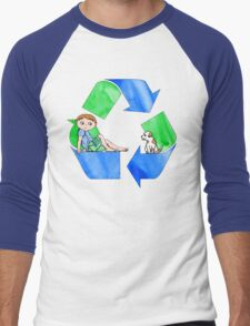 Boys Love the Planet, Too Men's Baseball ¾ T-Shirt