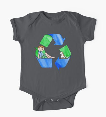 Boys Love the Planet, Too One Piece - Short Sleeve
