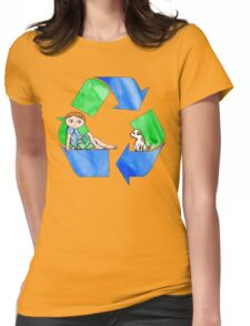 Boys Love the Planet, Too Womens Fitted T-Shirt