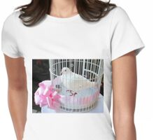Dove of Peace Womens Fitted T-Shirt