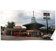 Frank Lloyd Wright Gas station Poster