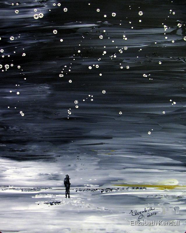 Night sky by Elizabeth Kendall