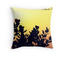 sunset romantic Throw Pillow